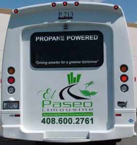 Propane Powered Bus